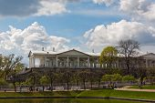 picture of sankt-peterburg  - Cameron gallery in Catherine park of Tsarskoe Selo Sankt - JPG