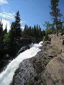 Falls In Estes Park, Colorado