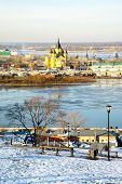 December View Of Cathedral Nevsky Nizhny Novgorod