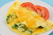 Zuchinni Omelette