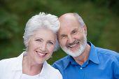 Portrait Of A Loving Senior Couple