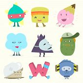 ������, ������: funny characters