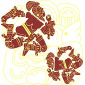 Mayan And Aztec Warriors