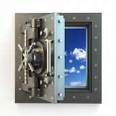 foto of bank vault  - Freedom - JPG