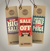 Sale Tags Design