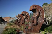foto of bender  - Beam Benders at the Cockatoo Island Sydney Australia 1st September 2013