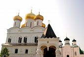 Golden Ring of Russia. Trinity (Troitsky) Cathedral in the Ipatievsky (Ipatiev) Monastery in Kostrom