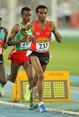 BARCELONA - JULY, 14: Abrar Osman Adem of Eritrea during 5000 meters of the 20th World Junior Athletics Championships at the Olympic Stadium on July 14, 2012 in Barcelona, Spain