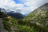 Train From Skagway Alaska To White Pass