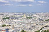 View on Paris (from the Eiffel Tower)