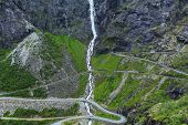 stock photo of troll  - Trollstigen - JPG