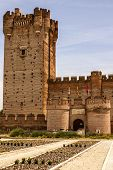 Castle Of The Mota In Medina Del Campo,valladolid,spain
