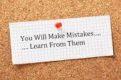 You Will Make Mistakes