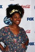 LOS ANGELES - FEB 20:  Majesty Rose at the American Idol 13 Finalists Party at Fig & Olive on Februa