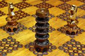 Horses Towers Attack In Chess