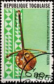TOGO - CIRCA 1991: A stamp printed by Togo shows Violon, circa 1991