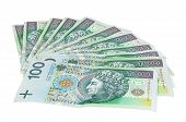 image of zloty  - Polish banknotes of 100 PLN  - JPG