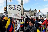 SOS Venezuela rally in Ottawa