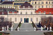 Park Of Belvedere Palace, Vienna