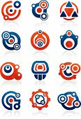 Tribal icons and symbols