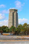 The Edificio Colon  in Barcelona, Spain