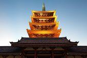 Tokyo senso ji buddhist temple , Asakusa Tokyo