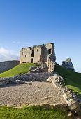 Duffus Castle ruins, Scotland