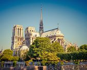 View on Notre Dame de Paris, Paris, France