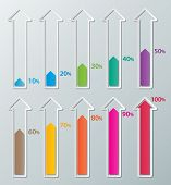 Paper Infographic Charts