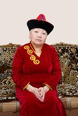 Buryat (mongolian) Senior Woman