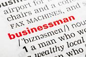Businessman Word Definition