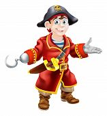 Young Cartoon Pirate