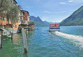 Gandria,Lake Lugano,Ticino Canton,Switzerland