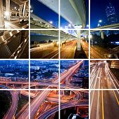 Megacity-Autobahn