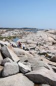 People On The Rocks, Peggy's Cove