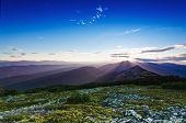 Carpathian sunset