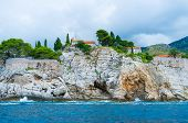 The Slopes Of Sveti Stefan