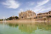 La Seu cathedral in Palma de Mallorca, Spain