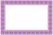 Rectangular Colorful Frame