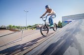 Diogo Martins During The Dvs Bmx Series 2014 By Fuel Tv