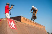Miguel Pires During The Dvs Bmx Series 2014 By Fuel Tv