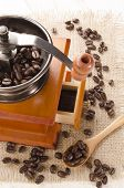 Used Coffee Grinder And Beans