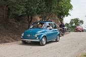 Vintage Italian Car Fiat 500