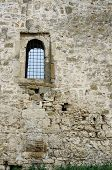 Window With Bars Inside Medieval Turkish Fortress Akkerman, The Biggest Fortification In Ukraine