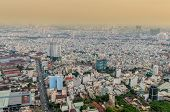 High view of Ho Chi Minh city