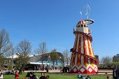 London - April 5. A Helter Skelter On April 5, 2014, The Opening Day Of The New Queen Elizabeth Park