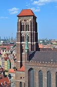 Gdansk. Church Of St. Mary