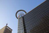 Upward Closeup View Of High Rise Building