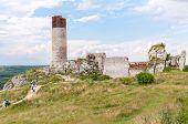 Castle Ruins In Olsztyn