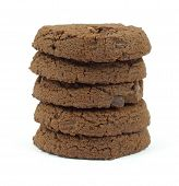 Single Stack Double Chocolate Chip Sugar Free Cookies